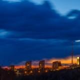 Вечерний город Пермь