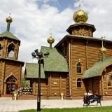 Церквушка и часовня на территории Туламашзавода в г.Тула