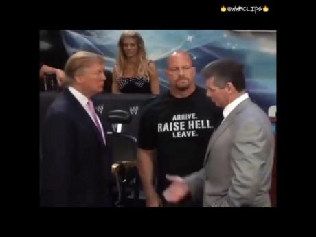 Президент США Дональд Трамп ударил в прямом эфире!